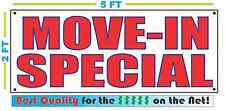 MOVE-IN SPECIAL Banner Sign NEW Larger Size Best Price for The $$$