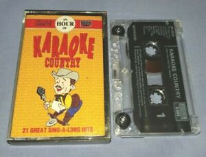 V/A AN HOUR OF KARAOKE COUNTRY cassette tape album