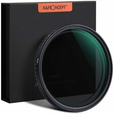 K&F Concept  ND2-ND32 -58,67,77,82mm -Variable ND Filter Nano-X Neutral Density