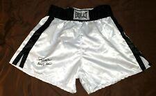 Everlast USA Skinners Glanz Satin Shiny Vintage Boxing Trunks Shorts XL