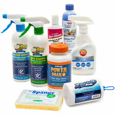 Spa Pro Cleaning Kit - Detailing Supplies, Protectants & Jet Flush for Hot Tub