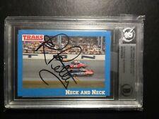 1991 Richard Pettys #5 traks with autograph