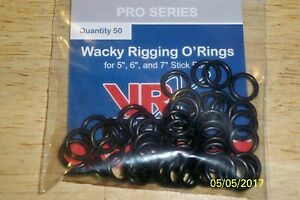 VRX Pro Series Wacky Rigging O'Rings 50 Count