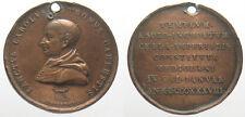 *TRIU* medaglia in bronzo 1838 SAN CARLO BORROMEO inc. Broggi