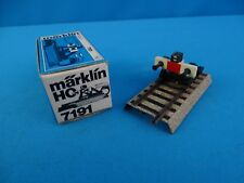 Marklin 7191 End Block Lighted 70-ies M Track