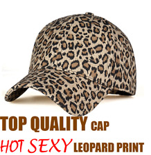 TOP QUALITY SEXY LEOPARD PRINT CAP BASEBALL BASKET HOT HAT HELMET IPHONE MAZDA
