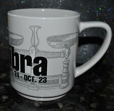 NEW SIGNATURE JUMBO MUG MONTH of the LIBRA BOLD ZODIAC Astrology Birthday