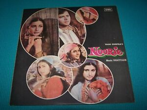 NOORIE -Bollywood Movie Soundtrack-Vinyl (Rare 1979 EMI-ODEON made in Pakistan)