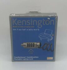 NEW Kensington Portable ComboSaver Combination Laptop Lock Set