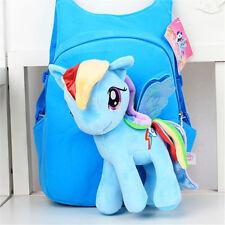 My Little Pony 3D Bag Plush Toy Soft Backpack Schoolbag Cartoon Kids Shoulder
