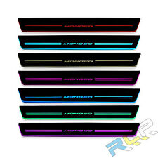 LED moving door Scuff for Mondeo Fusion Car Styling led  flash door sill plate