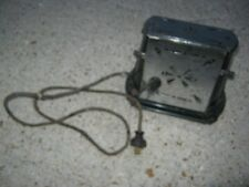 Vintage Used Sterling Chicago Electornic Metal Toaster great for decor only