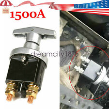 1500A Battery Isolator Disconnect Switch Power Kill Cut Off fit Marine RV Truck