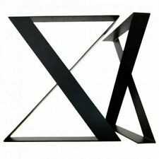 Steel Table Legs Square Shape Bench Coffee Dinning Tables 50cm Wide 70cm Tall