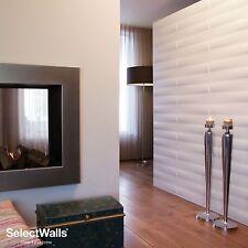 "MDF Wood 3D Wall Panels ""Zita"" -Box of 10 ( 27 sqft )- FREE SHIPPING buy 2 Boxes"