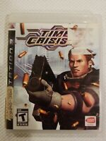 Time Crisis 4 (Sony PlayStation 3, 2007) PS3 COMPLETE NO GUN FREE S/H VG