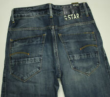 EUC - AS NEW - RRP $379 - Womens G-Star Raw 'ARC LOOSE TAPERED WMN' Indigo Jeans