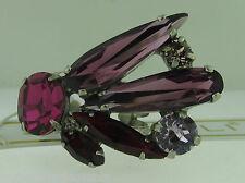 Sorrelli Pink Ruby Ring RDB6ASPR antique silver tone