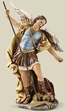 "SALE! New 7"" Saint Michael ST Figurine Statue Patron of Police Officers Cop Gift"