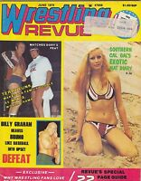 JUNE 1976 WRESTLING REVUE wrestling magazine BILLY GRAHAM