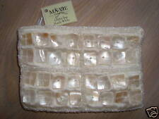 Make-up tasje/Glitter Bag/Pochette paillettes White