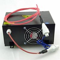 60W 40W Power Supply For Water Cooled Tube CO2 Laser Engraving Machine 220V