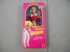 Vintage 1981 Western Barbie - Skipper Doll #5029 Mattel - Has Lasso NRFB