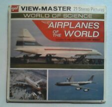 Airplanes of the World   View Master  GAF Packet  1960s   Rare