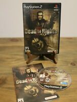 Dead to Rights II (Sony PlayStation 2, 2005 PS2)-Complete With Manual CIB