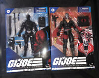 New In Box G.I Joe Classified Series Snake Eyes And Destro Hasbro Figure