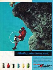 PUBLICITE ADVERTISING 025  1984  ALADDIN  les carafes thermos