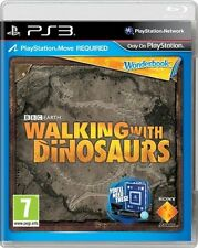 * PLAYSTATION 3 NEW SEALED MOVE Game Wonderbook Walking with Dinosaurs PS3 CZE