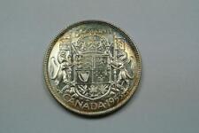 1953 Canada Half Dollar, Small Date, CH BU Condition - C1238