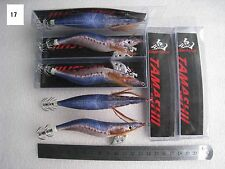 10pcs yamashita3.5# squid jig,fishing lure ,fishingtackle ,glow body 13.5cm 21g.