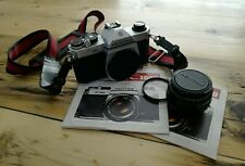 Pentax K1000 50 mm lens Kit 35mm SLR Film Camera
