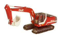 NZG O&K RH 6-22 Excavator  Scale - diecast 1:87 HO  #474 New in Box