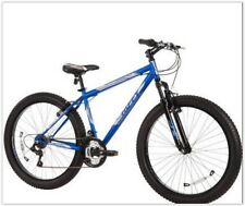 "Mountain Bike 26"" Huffy Men's Fortress 3.0 Mid-Fat Plus Tire Comfort Ride Blue"
