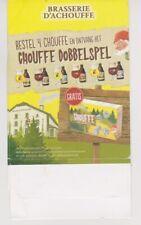 Br. MOORTGAT - LA CHOUFFE  // TAFELRECLAME - Dobbelspel