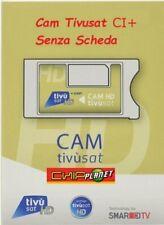 CAM TIVUSAT HD CI+ SERIE ORO 4K SENZA SCHEDA