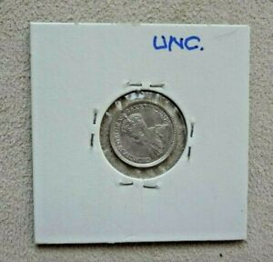1919 Canada 5 Cent World Silver Coin - Canada - George V UN-CIRCULATED