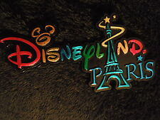 MAGNET DISNEY DISNEYLAND PARIS : LOGO PARC DISNEYLAND PARIS + TOUR EIFFEL
