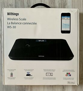 Withings Wireless Scale WS-30 (Black)