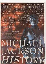 ☆☆ Rare MICHAEL JACKSON HISTORY CD LP MC REVIEW A4 MAGAZINE POSTER ADVERT ☆☆ 003