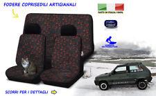 Coprisedili Fiat Panda Young fodere copri sedile set sedili auto tessuto vintage