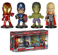 Avengers Age of Ultron 8.9cm Mini Wacky Wobbler 4 Pack Funko Bobblehead Hulk