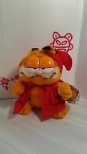 "Vintage Plush Dakin ""Red Riding Hood"" Garfield #32-9710 Circa 1980's EUC"