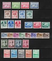 Indonesia - 7 early mint sets, cat.  $ 41.70
