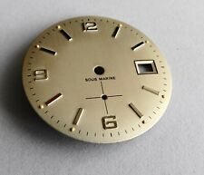 Piece Watchmaking Watch Dial Curved Grey Diameter 1 3/16in Cal.