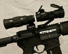 1.5 - 5x VARIABLE MAGNIFIER & Red Dot Sight with FTS Mount eotech aimpoint scope