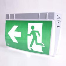 LED Emergency Light Exit Sign Wall or Ceiling Mounted